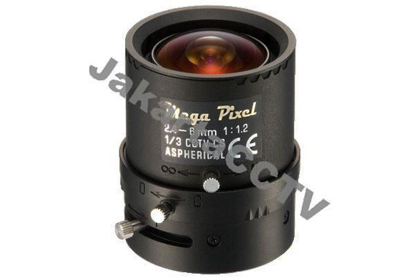 Gambar Axis Varifocal Megapixel Lens 2.4-6mm