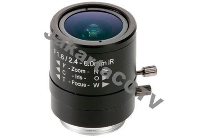 Gambar Axis Lens CS 2.4-6mm Manual Iris