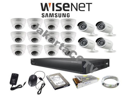 Gambar Paket 16 Channel Samsung Economic Series 2MP