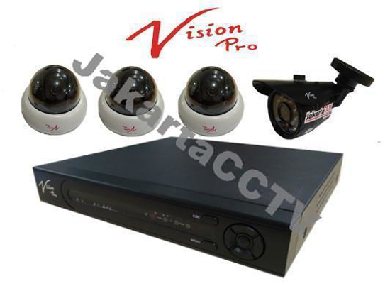 Gambar Paket 4 Channel Vision Pro