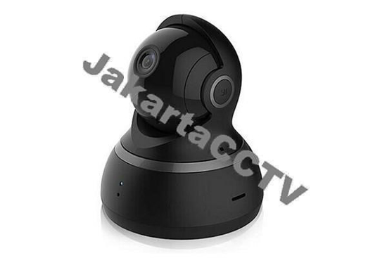 Xiaomi Yi Dome 360° Smart IP Cam HD_1.0 MP Night Vision [Black] |kamera rumah|kamera bayi|kamera 360°