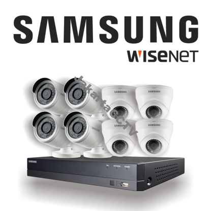 Gambar Paket CCTV Samsung Economic Series 8 Channel 2.0 MP