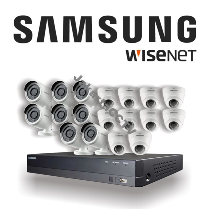 Gambar Paket CCTV Samsung Economic Series 16 Channel 2.0 MP