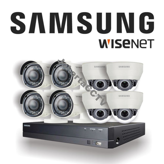 Gambar Paket CCTV Samsung Premium Series 8 Channel 2.0 MP