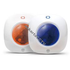 Gambar [Alarm Accesories] Chuango Mini Strobe Siren WS-105