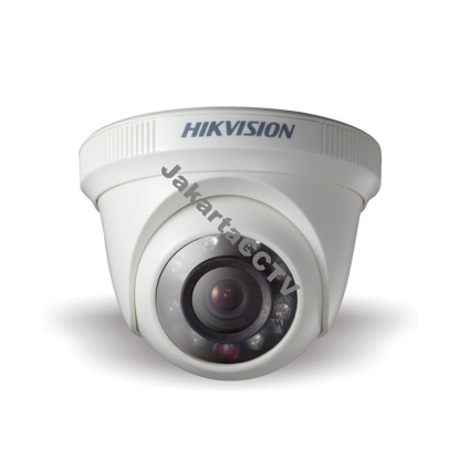 Gambar [HDTVI Camera] Hikvision DS-2CE56D0T-IRPF HD Indoor IR Turret Dome Camera 2.0 MP