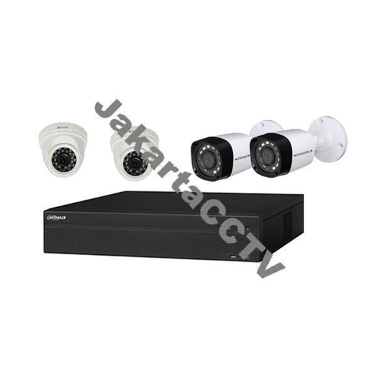 Gambar Paket Easy Protect 1MP 4CH