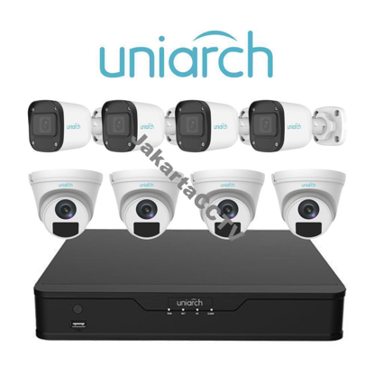 Gambar Paket CCTV Easy Combo Uniarch 8 Channel  2 MP