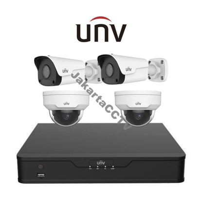Gambar Paket Lite Uniview 2MP 4 Channel
