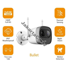 Gambar IMOU New Bullet 1080P Outdoor WIFI Camera